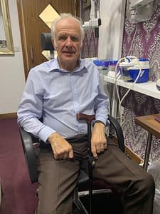 Read more about the article Royal Artillery Veteran Fitted With Top Of The Range Hearing Aids.