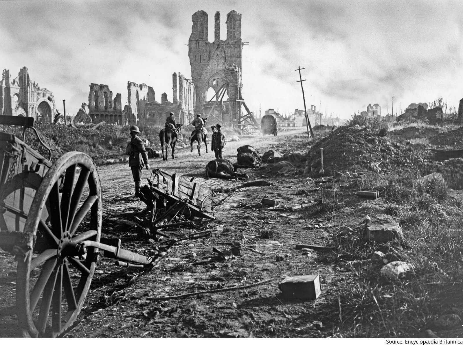 You are currently viewing Anniversary of the Battle of Passchendaele