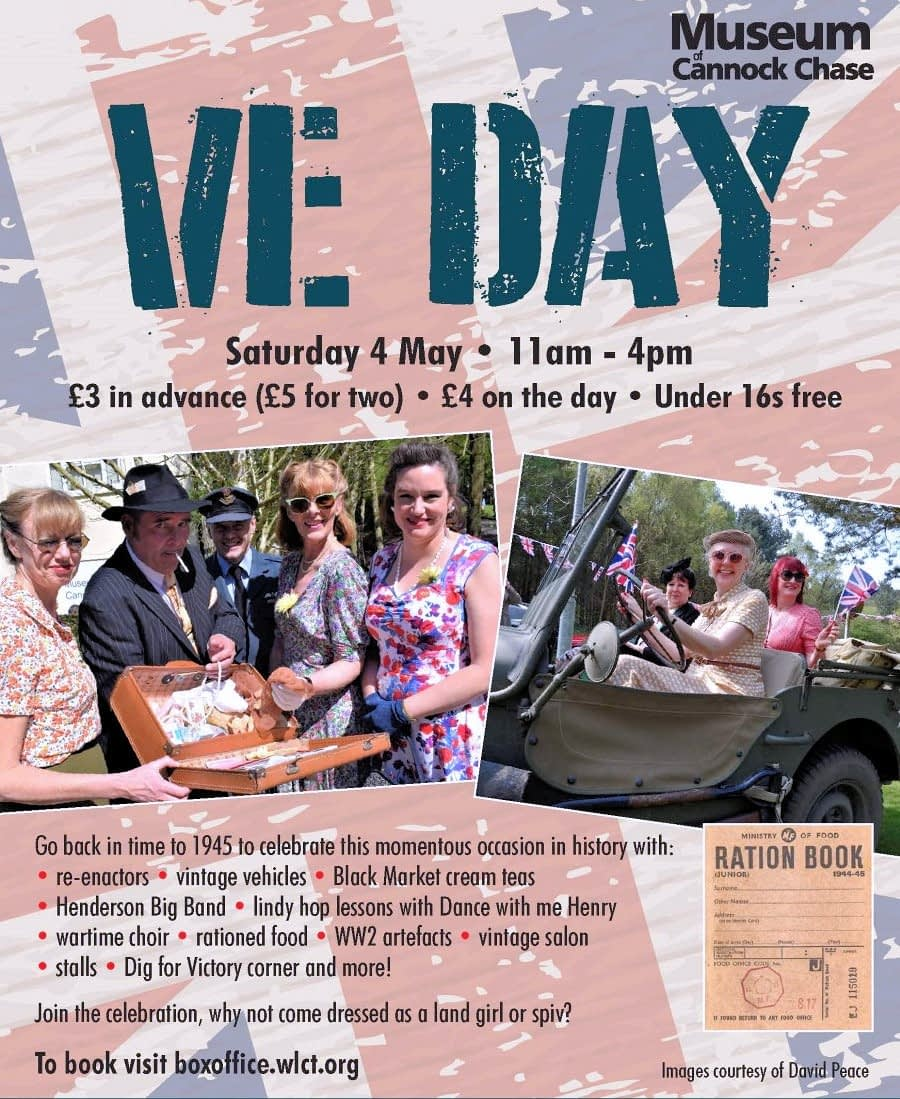 You are currently viewing Cannock Chase Museum to celebrate VE Day