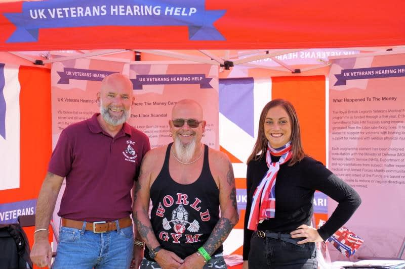 Read more about the article UK Veterans Hearing Help at The Victory Show 2018