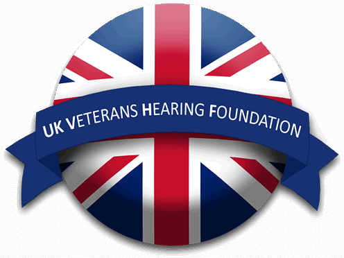 Small UK Veterans Hearing Foundation Logo