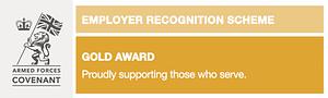 Employer recognition scheme gold award