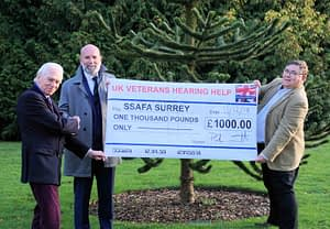 Read more about the article £1,000 Donation to SSAFA by UKVHH