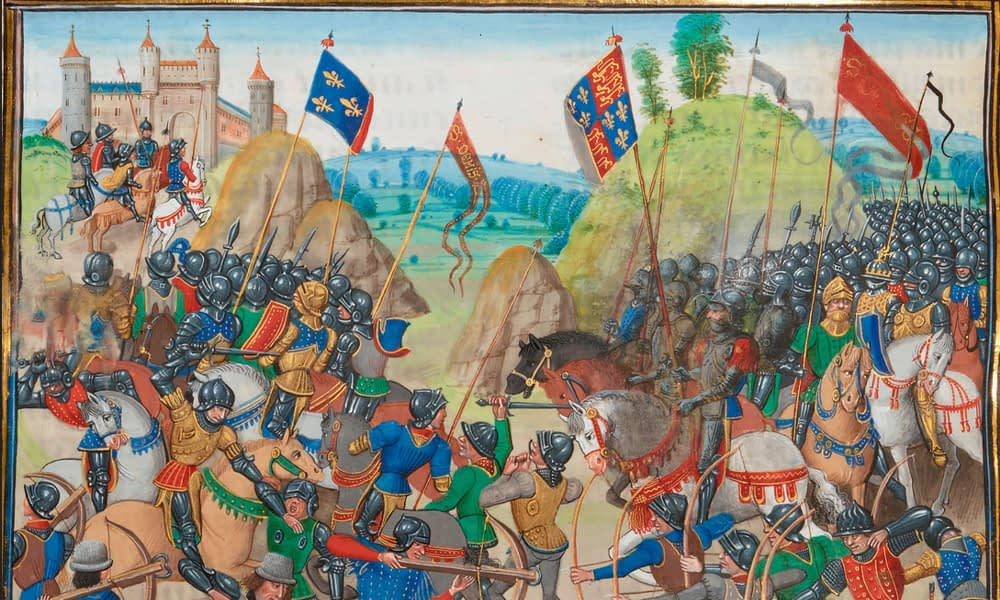 You are currently viewing The Anniversary of the Battle of Crécy